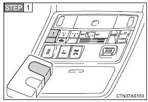 Toyota 4runner Garage Door Opener Other Interior