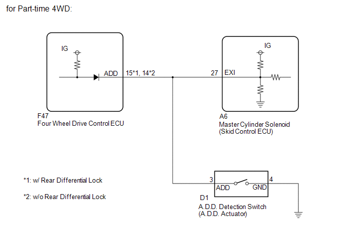 Superb Toyota 4Runner Open Circuit In Transfer 4Wd Position Switch Circuit Wiring Cloud Oideiuggs Outletorg