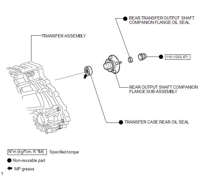 Transmission & Drivetrain TRANSFER CASE FITS 03-16 4 RUNNER Stk ...